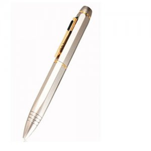 4GB Memory HD 720P Pure Copper with Chromeplate Spy Camera Pen
